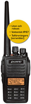 Puxing PX-568 VHF 136-174 MHz